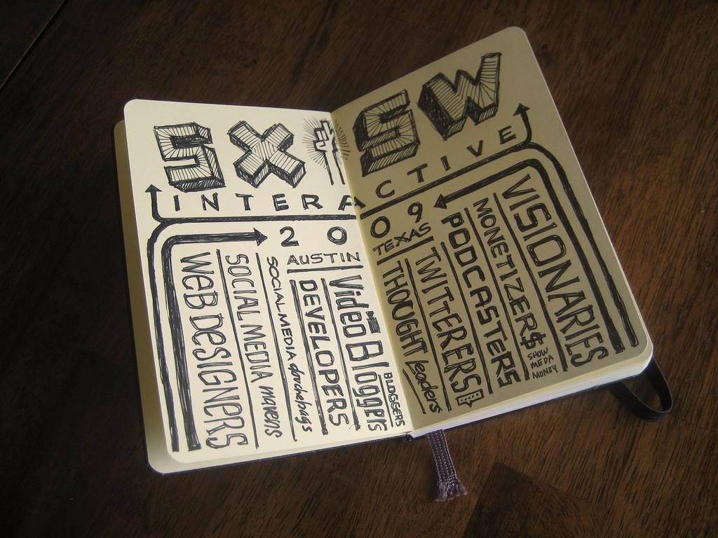 SXSW Interactive Sketchnotes 2009