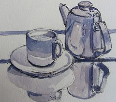 A cup of tea at Granchester