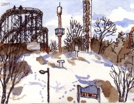 Winter Landscape: Midday