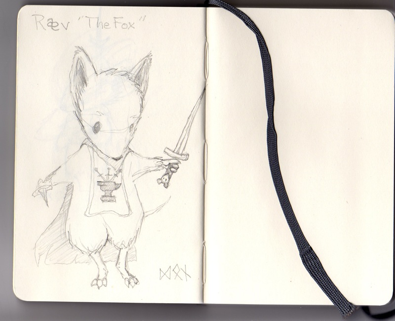 Rav of the Mouse Guard!