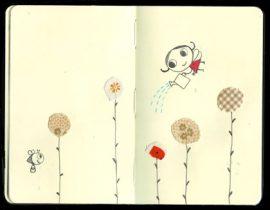 my moleskine blooms