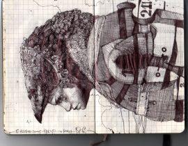 my moleskine 2009 – illustrations