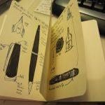 My Mont Blanc Sketches Part 1