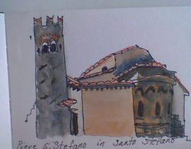 Lucca Watercolor Workshop 2009