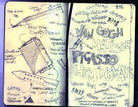 Secret notebook