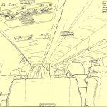 Airplane flight to vegas