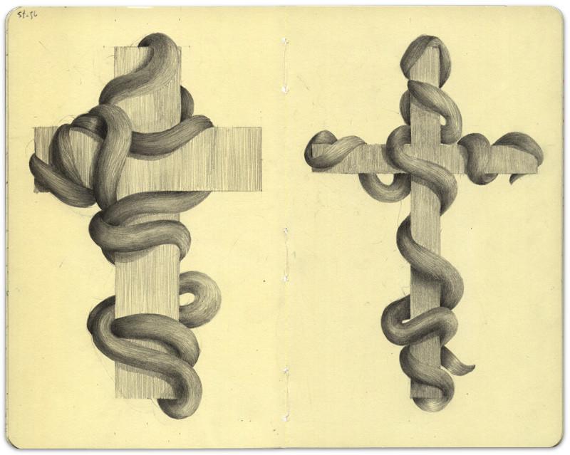 Crucifix, Page 55-56