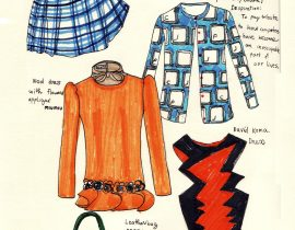 Pieces i like from ELLE us, August 2010.  <3