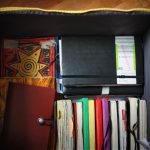 ikea box with my moleskines