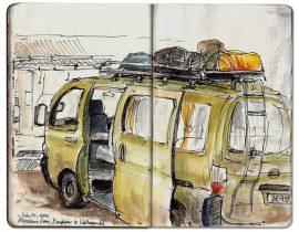 Microbus to Kathmandu