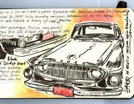 Black Dodge 1962 (Museum Satria Mandala Jakarta, ID)