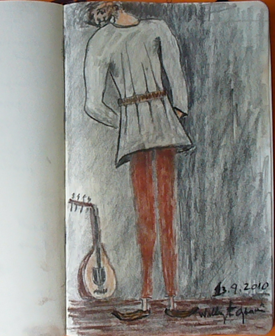 Tocador de Alaúde