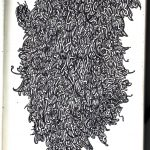 mel b drawings