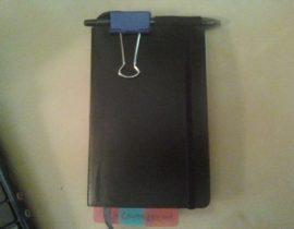 Pocket Moleskine Penholder