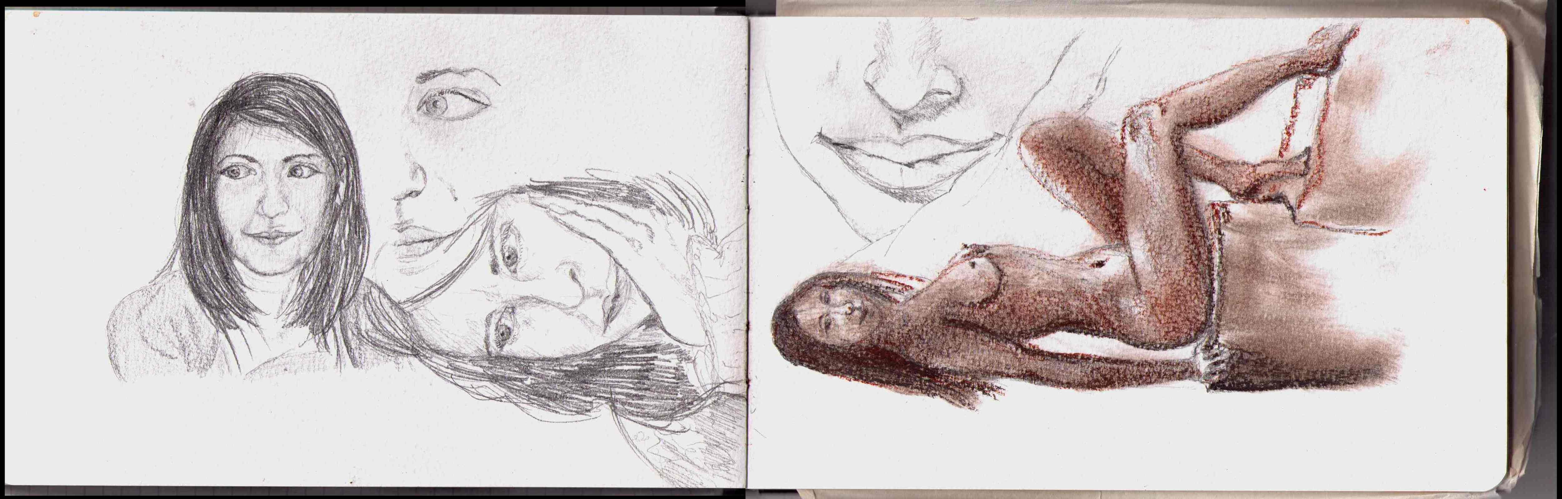 Studies for Florence Art Academy admission test