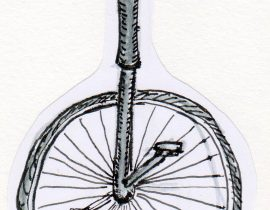'one-cycle' pronounced like popsicle