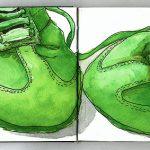 My bike shoes