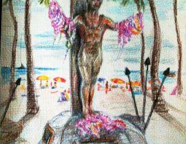 Aloha fr. Waikiki Beach