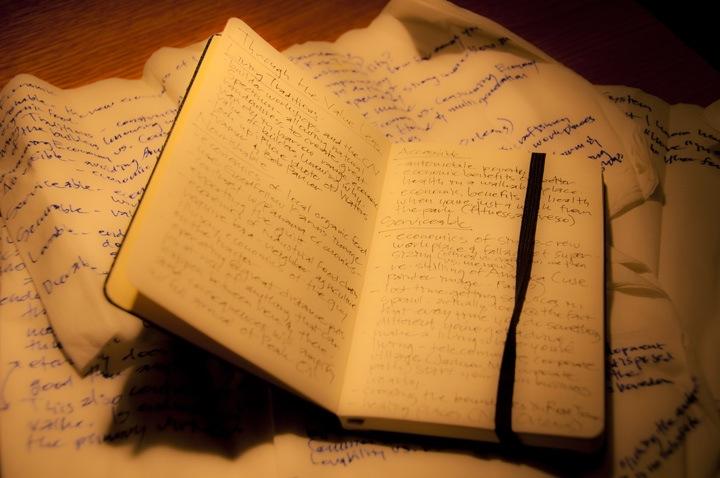 Napkin Notes to Moleskine