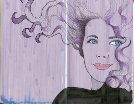 The Purple Girl
