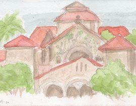 Stanford campus, Palo Alto, CA