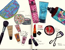 My cosmetics selection