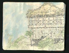 Belize sketch