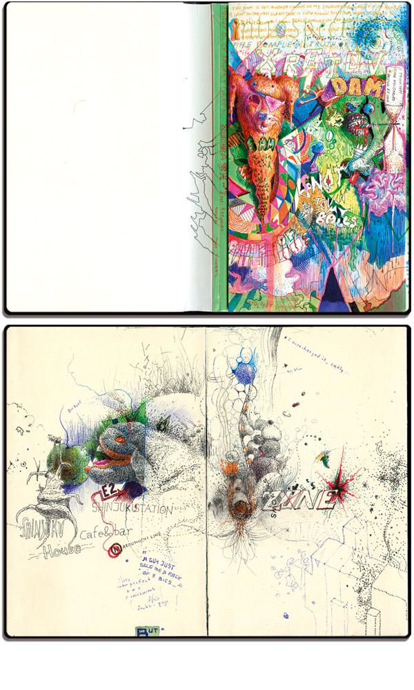 Metamorfikon Moleskine 2011 intitiated…