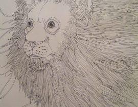 monocle lion