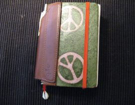 My Moleskine Wallet and Calendar