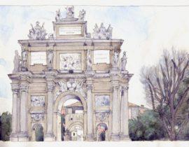 Firenze – L'Arco di Trionfo