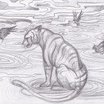El cuervo y el tigre