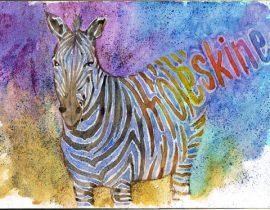 Moleskine – zebra