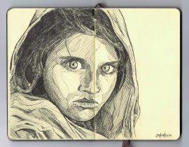 Sharbat Gula (a.k.a. Afghan Girl)