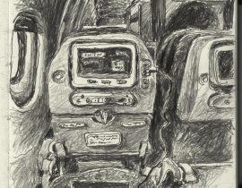 MS800 . Paris to Cairo