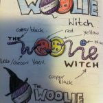 The Woolie Witch logo