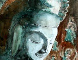 Buddha, Dunhuang Cave, China
