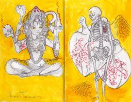 Diosa Kali y la muerte