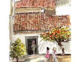 croquis sur le vif: Faro – Portugal