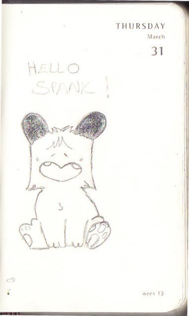 Hello Spank!