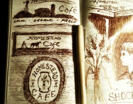 cafe Sketches