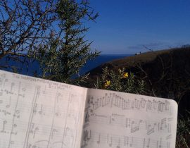 Writing music on Lundy