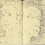 Alain Gardere, portraits