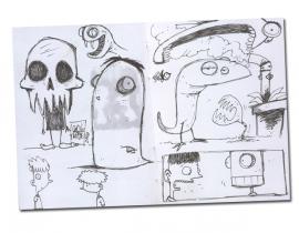 PAOLO TADDEI – GRAPHIC DESIGNER – (Sketchbook)