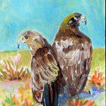 Double Golden Eagles