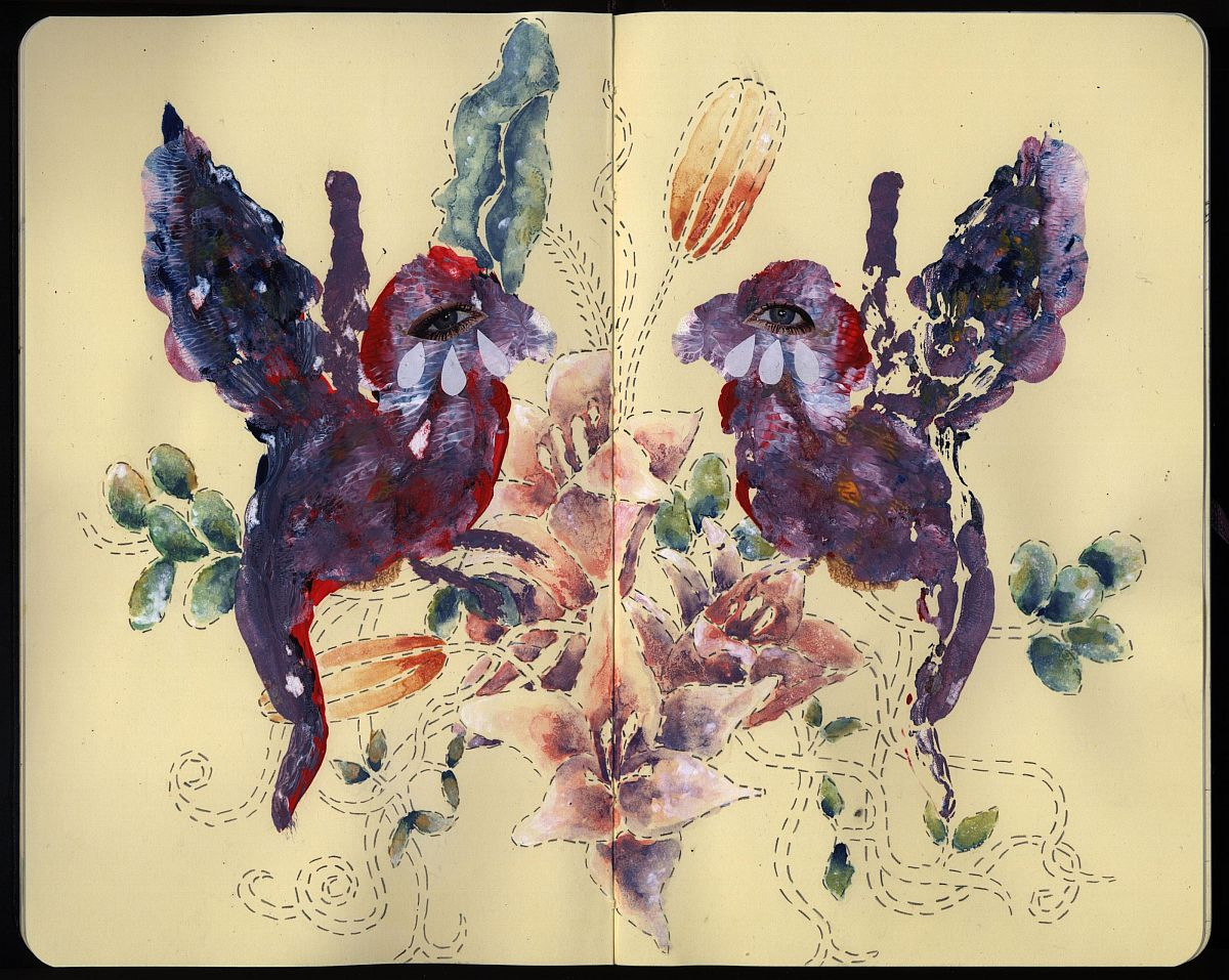Moleskine Birds 1.