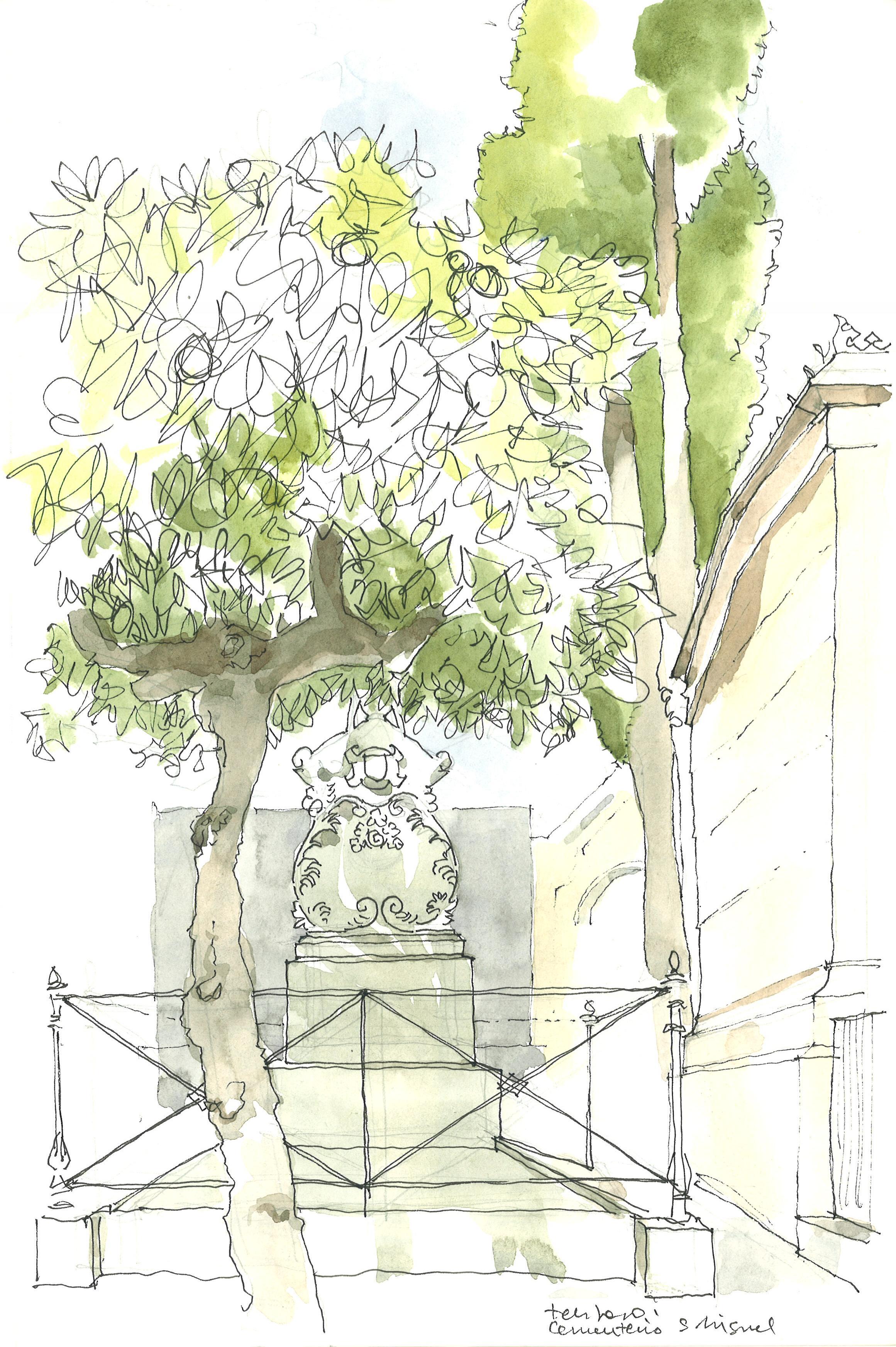 Cementerio de San Miguel. Málaga. España