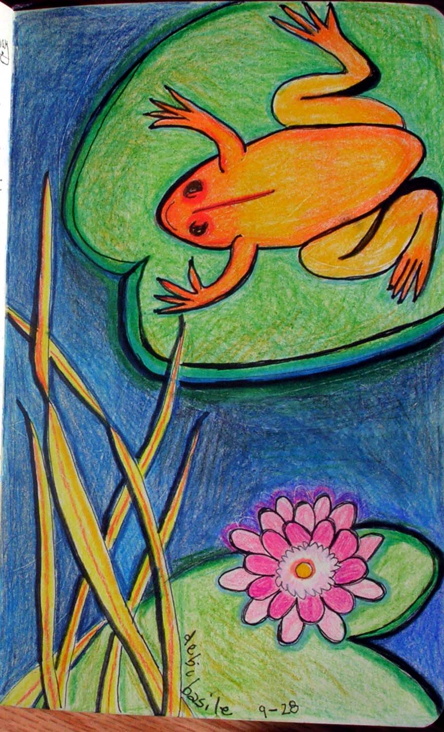 The Frog and the Lotus