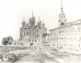 landscape of Vladimir