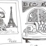 dream about Paris and midwinter night's dream))